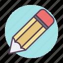 design, draw, drawing, edit, pencil, schoole icon, write icon