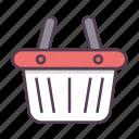 basket, shop, shopping, store icon icon