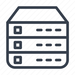 archive, cell, directory, storage, store icon