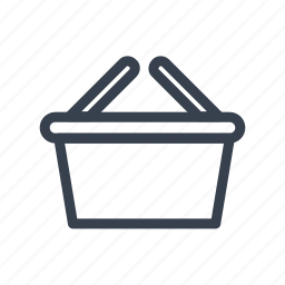 basket, buy, online, purchase, store icon