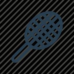 badminton, racket, racquet, racquetball, tennis icon