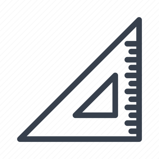 angular, centimeter, line, ruler, stationery, straightedge icon