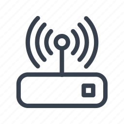 connection, device, internet, wifi icon