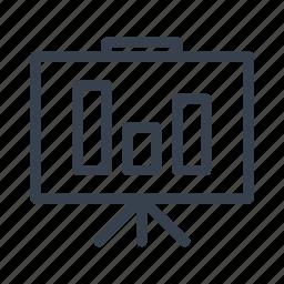 bar, data, graph, histogram, information, marketing, report icon