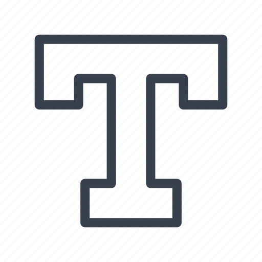 font, letter, text, type, typeface, typography icon