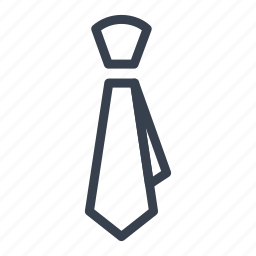 accessory, clothes, cravat, tie icon