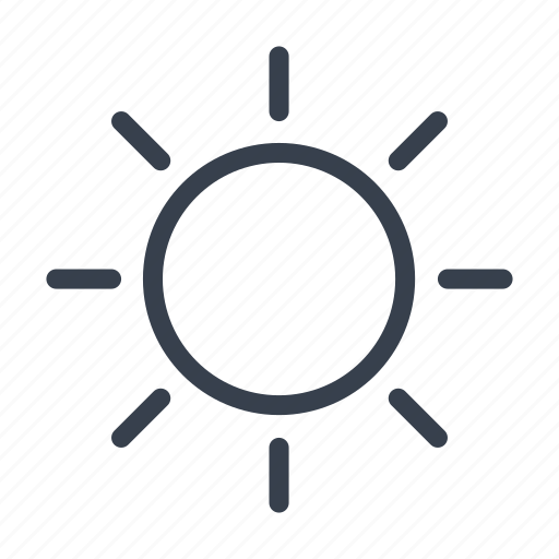 heat, hot, positive, sun, sunny, weather icon