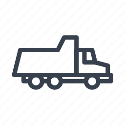 construction, dumper, kamaz, machine, transport, truck, vehicle icon