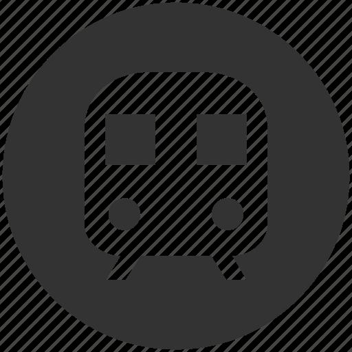 express train, metro, railroad, railway, subway, transportation, vehicle icon