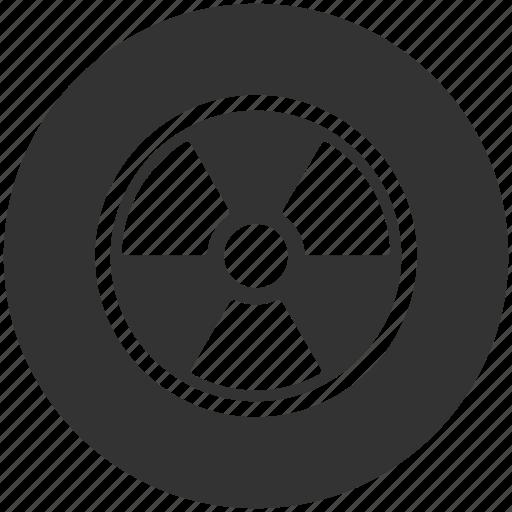 atom, atomic, energy, nuclear, physics, radiation, weapon icon