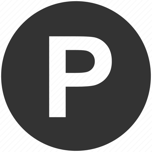 p sign, parking, street signs, traffic, transport, transportation, trucking icon