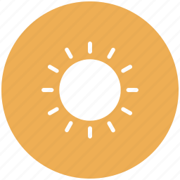day, summer, sun, weather icon icon