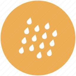 cloud, drop, forecast, rain, water, weather icon icon