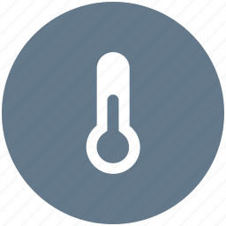 temp, temperature, thermometer, weather icon icon