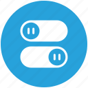 interface, off, on, switch, toggle icon icon