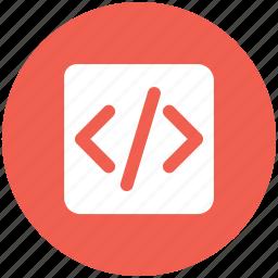 code, web icon icon