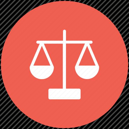 balance, justice, law, legal icon icon