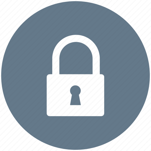 administrator, lock, locked, secure icon icon