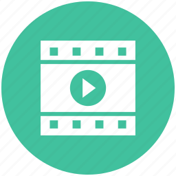 film, movie, play, video icon icon
