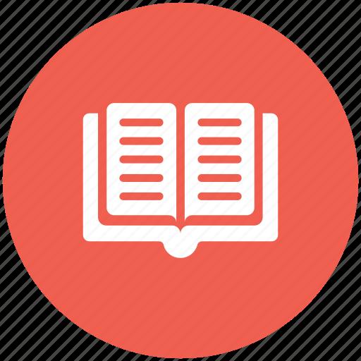 book, bookmark, open icon icon