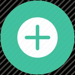 add, create, new, plus icon icon