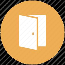 door, enter, exit, open icon icon