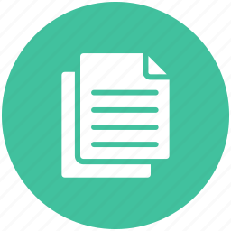 documents, papers icon icon