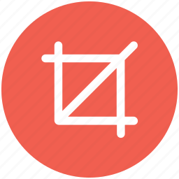 crop, design, tool icon icon