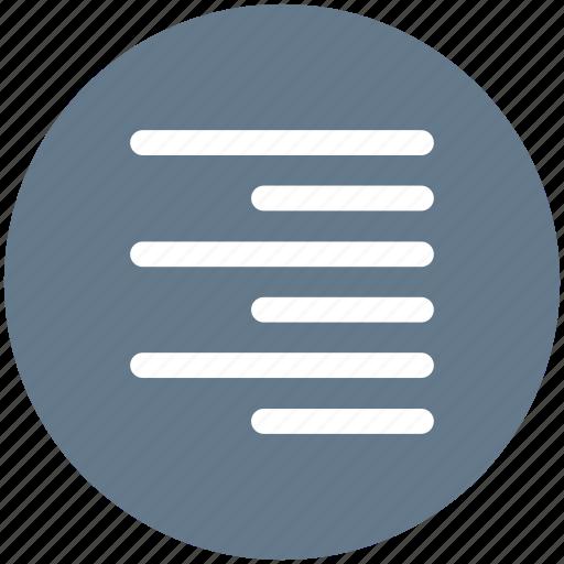 align, paragraph, right, text icon icon
