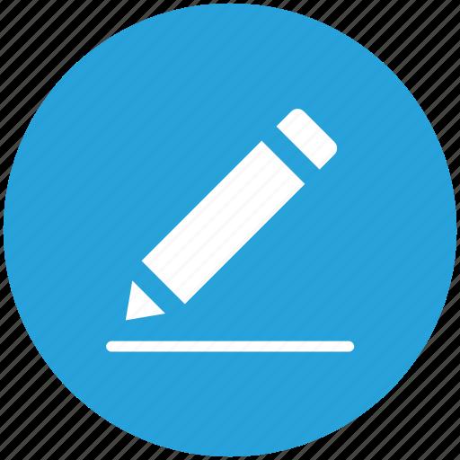 edit, pen, pencil, write icon icon
