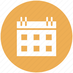 calendar, date, event, reminder icon icon