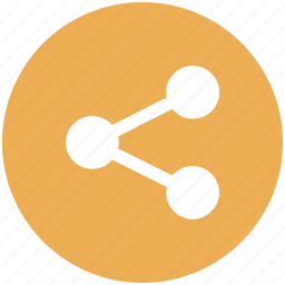 network, share, social icon icon