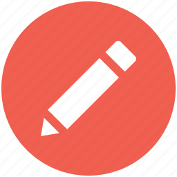 draw, edit, pencil, write icon icon