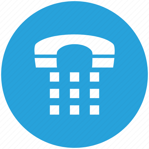 business, call, dail, office, phone, telephone, work icon icon