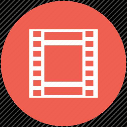 film, film reel, movie, reel, video icon icon