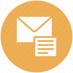 email, message, open email, opened email, read icon icon