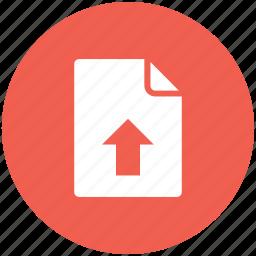 file, file upload, upload, upload file, upload file icon, uploading file icon icon