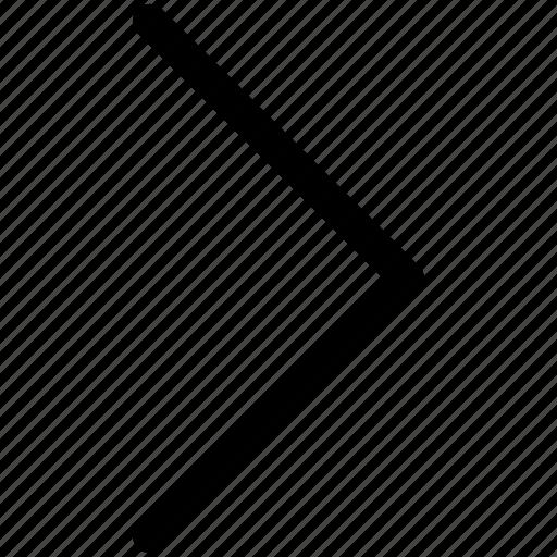 chevron, direction, next, right icon icon