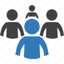 group, human, leader, manager, people, team, user icon