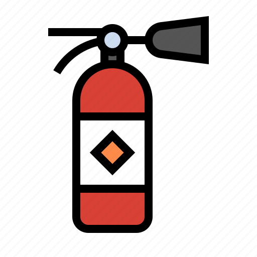 arson, fire, fire extinguisher, flame, safety icon