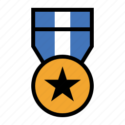award, badge, excellence, hero, honor, medal, valor icon
