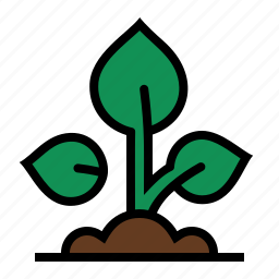 agriculture, farming, growth, plant, sapling, seedling, sprout icon