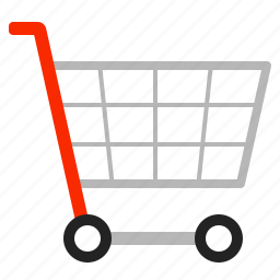 cart, shopping, trolley icon