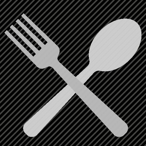 dinner, fork, lunch, menu, restaurant, spoon icon
