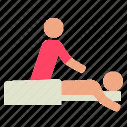massage, salon, spa icon