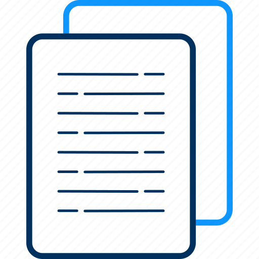 copy, document, documents, file, format, paper icon
