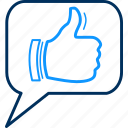 accept, approve, approved, like, ok, thumb, yes icon