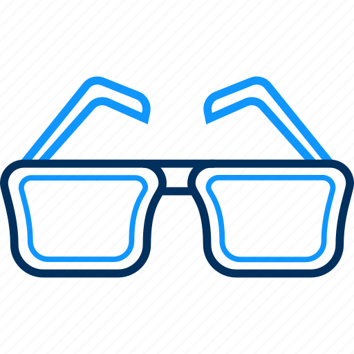 eye, eyeglasses, glass, glasses, spectacles, spects, view icon