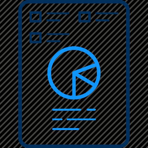 analysis, analytics, business, chart, diagram, graph, report icon