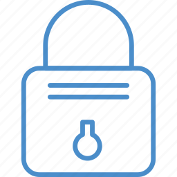 lock, locked, metal icon
